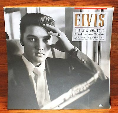 Elvis Private Moments Photos From Wertheimer 16 Month 2001 Collectible Calendar