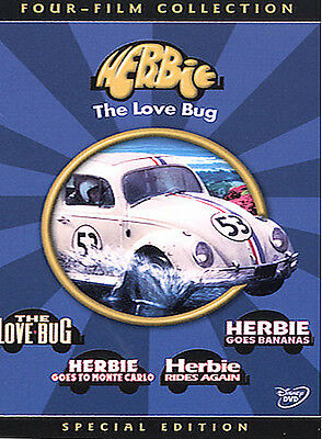The Love Bug (DVD 2004) Complete 4-Film Herbie Collection; L5