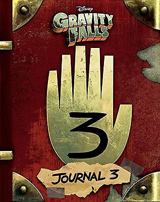 Gravity Falls Journal 3 Three Hardcover Book Disney Brand New