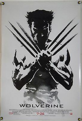 The Wolverine Ds Rolled Adv Orig 1Sh Movie Poster Hugh Jackman Marvel Xmen(2013)