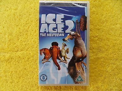* new & sealed * ICE AGE 2 the meltdown - sony playstation psp UMD video - disc
