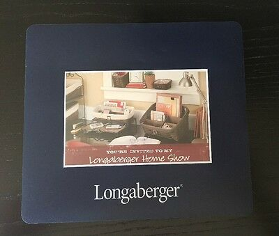 Longaberger Homestead Mouse Pad Holds Basket Postcard or Any Photo