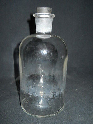 Unbranded 500mL Glass Apothecary Storage Bottle w/ Rubber Stopper
