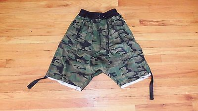 Fear Of God Inspired Active Shorts In Camo Sz 36 / KITH Supreme ADYN APC Kanye