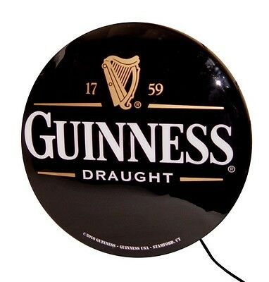 """Guinness Draught Single Sided 20"""" Lightbox Sign New In Box"""
