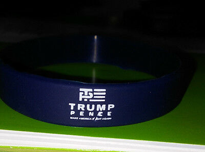 Trump Pence Logo 2016 Silicone  Wristband Adult size