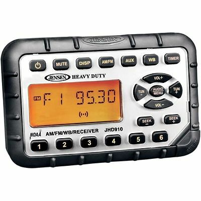 JHD910 Mini Am/FM/WB Stereo with Audio Aux-In Jensen  JHD910