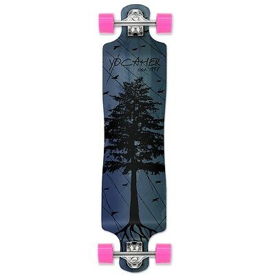 Yocaher Lowrider Longboard Complete - In the Pines : Blue