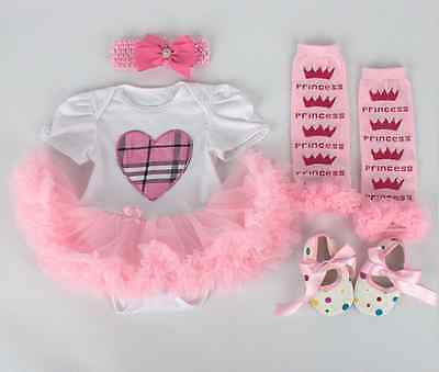 Reborn Doll Accessories Doll Dress Suit Dress Shoes And Colorful Socks 22''