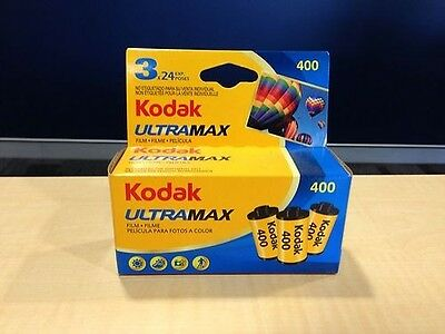 9 x KODAK ULTRAMAX Film (3X3PKS)! Colour Negative 35mm Film! Bulk Buy. Exp 02/18