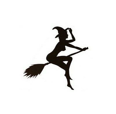 Sexy Witch Lady Girl Car Styling Waterproof Stickers Fade-resistant Vinyl Decals
