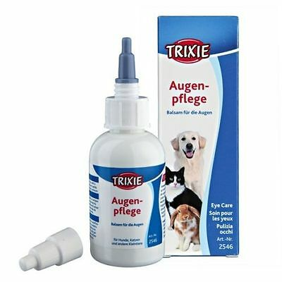 Trixie Gentle Tear Eye Cleaner Cleanser Remove Dirt Dust Dog Cat Pet 50ml  2546