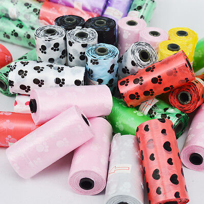 10 roll waste bag Refill Poop Bags Biodegradable Dog Pet Waste