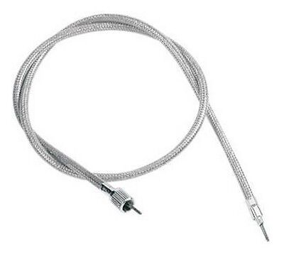 Front-Wheel Drive Speedometer Cable Drag Specialties Clear Coated 5390200B