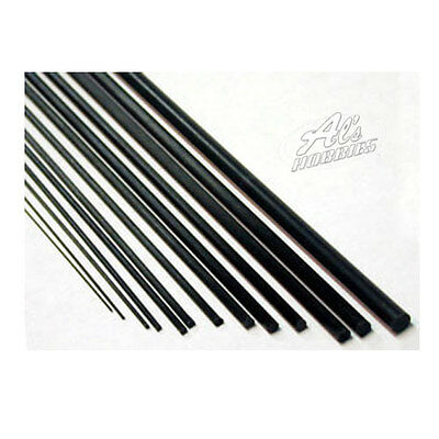 Carbon Fibre Round Tube High Quality Pack 1 x 900mm Long  Select Diameter