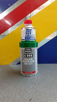 HB BODY 495 Express 1/2L 2k Lacquer kit with 727 hardener smart repair