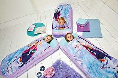 Ready Bed Disney Frozen Airbed And Sleeping Bag In One - Camping - Sleep overs