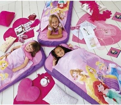 ReadyBed Disney Princess Airbed And Sleeping Bag In One Camping Travel Home New