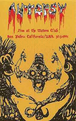 Autopsy - Live at the Waters Club, 1991 (USA), Tape