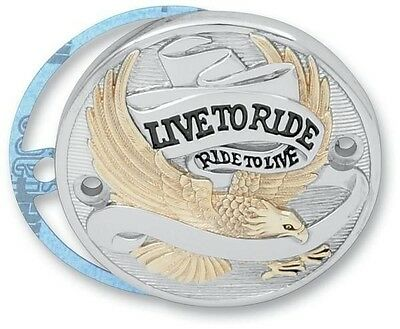 Live to Ride Points Cover Drag Specialties Gold 30-0152CA