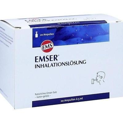 EMSER Inhalationslösung 20 St