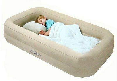 Kids Travel Airbed Intex Single Air Bed Inflatable Travel From Ages 3 to 8 Years