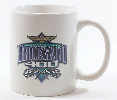 Collectible Vintage Nascar Auto Car Racing Brickyard 400 Coffee Mug