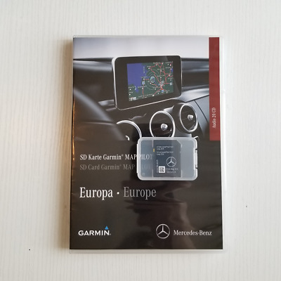 Genuine New Mercedes SD Card Garmin Map Pilot 2017/2018 V9.0 Latest Version