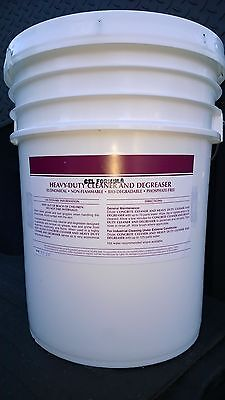Heavy Duty Gel Formula Cleaner Degreaser Patriot Chemical Sales 5 Gallon