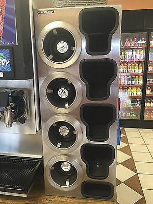 Coffee Smoothie, Juices Cup Dispenser Cabinet