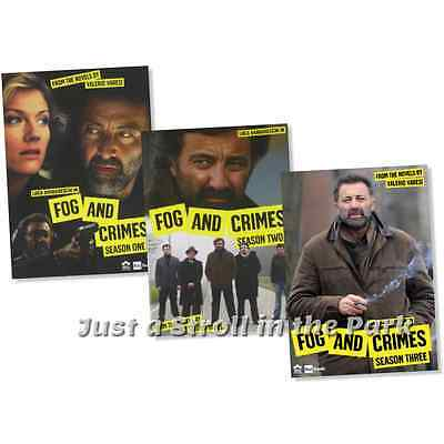 Fog and Crimes: Complete Italian TV Series Seasons 1 2 3 Box / DVD Set(s) NEW!