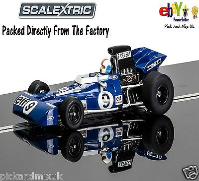 NEW IN  Scalextric Slot Car LIMITED EDITION  Legends Tyrrell 002  C3759A
