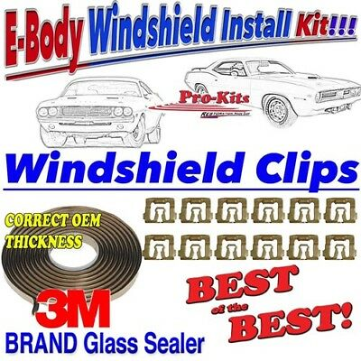 MOPAR 71 72 73 74 Cuda Barracuda Challenger Windshield Sealer Gasket Tape Kit