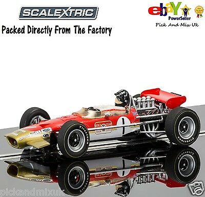 NEW IN Scalextric Slot Car LIMITED EDITION Legends Team Lotus Graham Hill C3701A