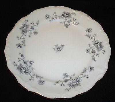 "Vintage Johann Haviland Bavaria Germany Blue Garland 6 ¼"" Bread & Butter Plate"