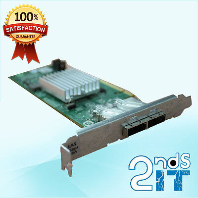 Dell 12DNW 012DNW MD3200 MD3220 2-Port 6Gbps SAS PCI-E HBA Controller Card