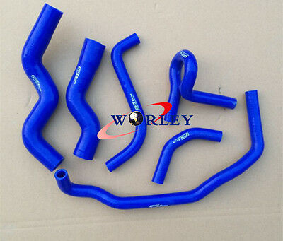 Blue Silicone radiator heater hose for Holden Rodeo TF 2.8L Turbo Diesel 90-97