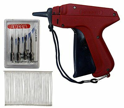 Amram Tagger Standard Tag Attaching Tagging Gun BONUS KIT with 5 Needles and 2""
