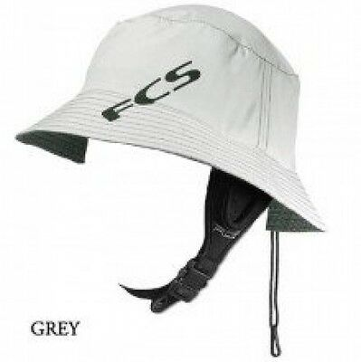 FCS Wet Bucket Surfing Hat - Grey Large/X-Large