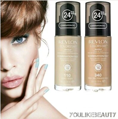 Revlon ColorStay Make Up Foundation Combi/Oily Skin PUMPE 30ml •••FARBAUSWAHL•••