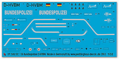 Peddinghaus 2652 1/32 EC-135 Bundespolizei D-HVBM