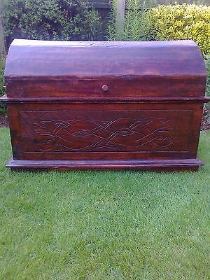 Sea Captain's Style Dome Top Chest/Trunk/Storage/Toy Box