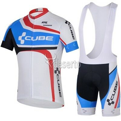 BNWT NEW Cube Cycling Jersey and Short set Racing Bike tour