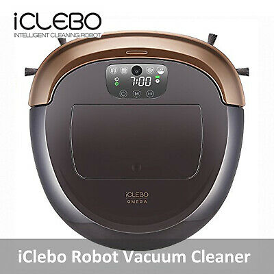 iClebo YCR-M07-10 Omega Gold Robotic Robot Vacuum Cleaner Smart Turbo/Eng Manual