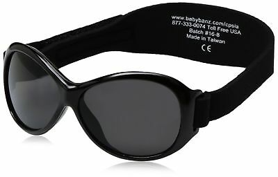 Baby Banz Retro Banz Oval Baby Sunglasses Midnight Black