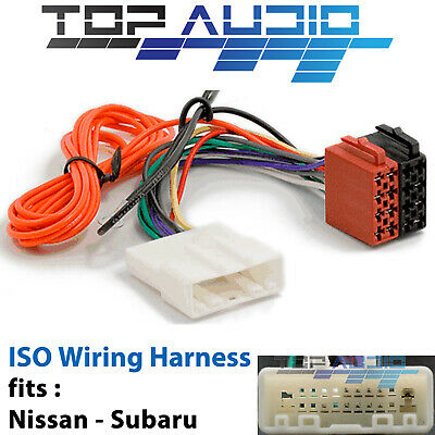 fit Nissan X-Trail Xtrail ISO wiring harness adaptor cable wire lead loom plug