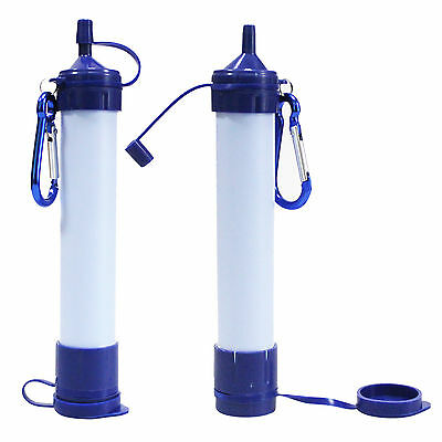 Sport Filtration Water Filter Purifier Straw Camping Hiking Cycling Filter