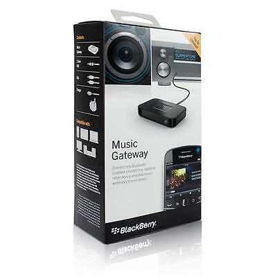 BlackBerry Music Gateway Bluetooth Audio Adapter