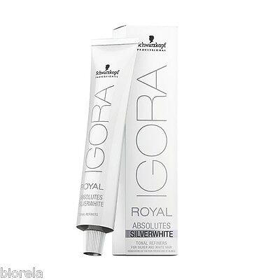 Coloration Igora Silverwhite Schwarzkopf 60 ml