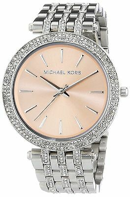 Michael Kors MK3218 Brown Dial Darci Mother Of Pearl Woman Watch